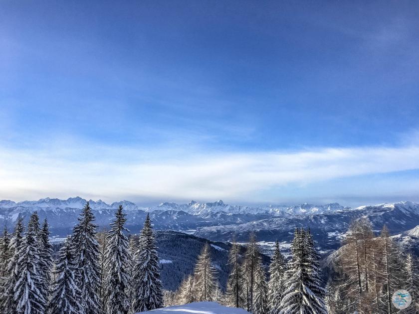 Genialer Ausblick auf ganz Kärnten von der Gerlitzen Alpe