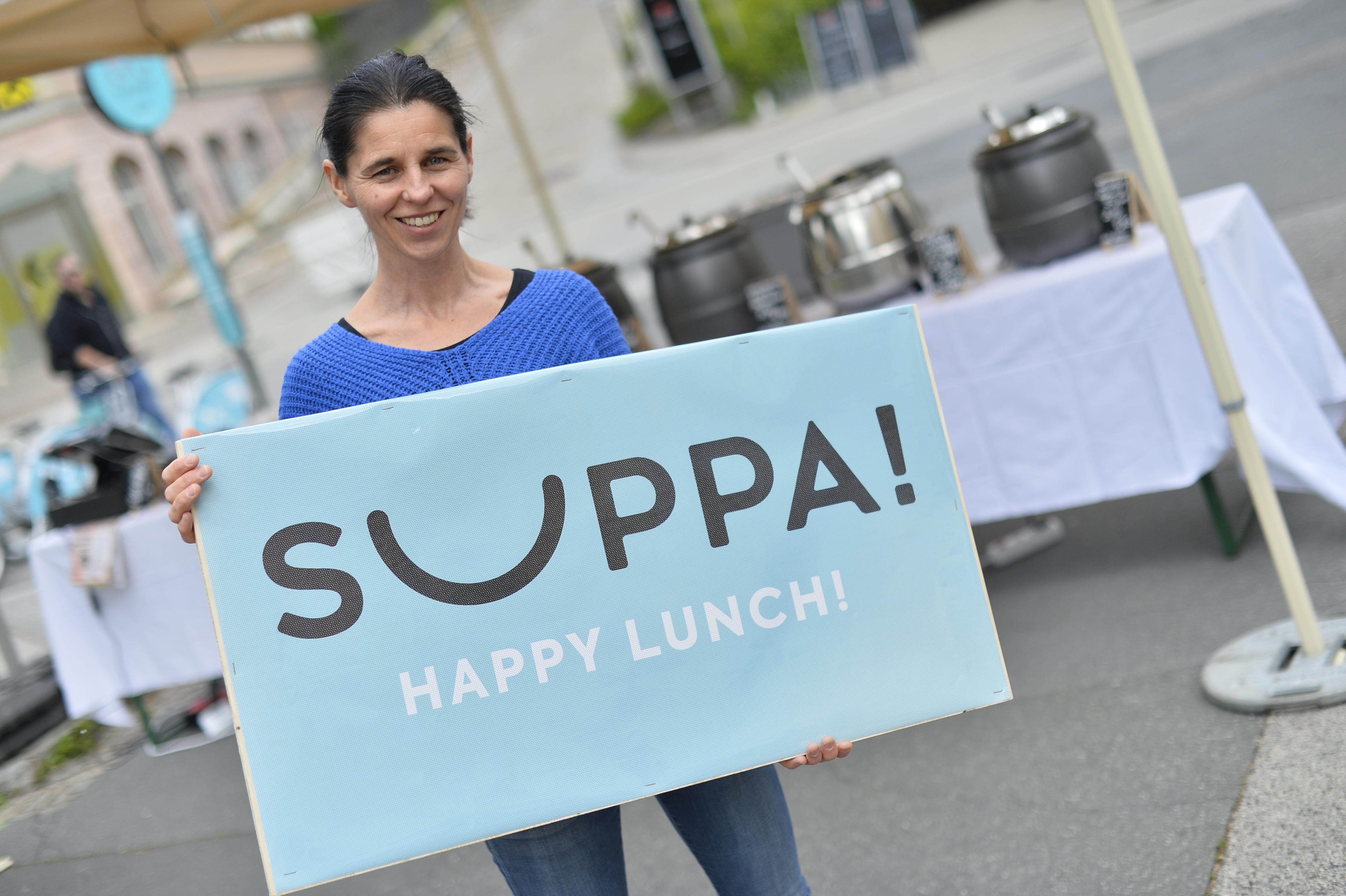Frisch zubereitete Suppen von SUPPA! © Wirtschaftsservice / Helge Bauer