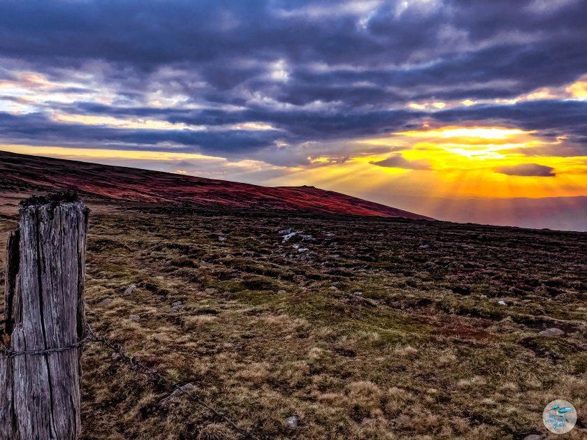Sonnenaufgang am Panoramaweg Südalpen