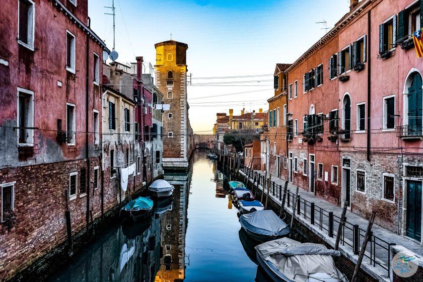 Venedig: stimmungsvolle Kanäle laden zum Genießen ein