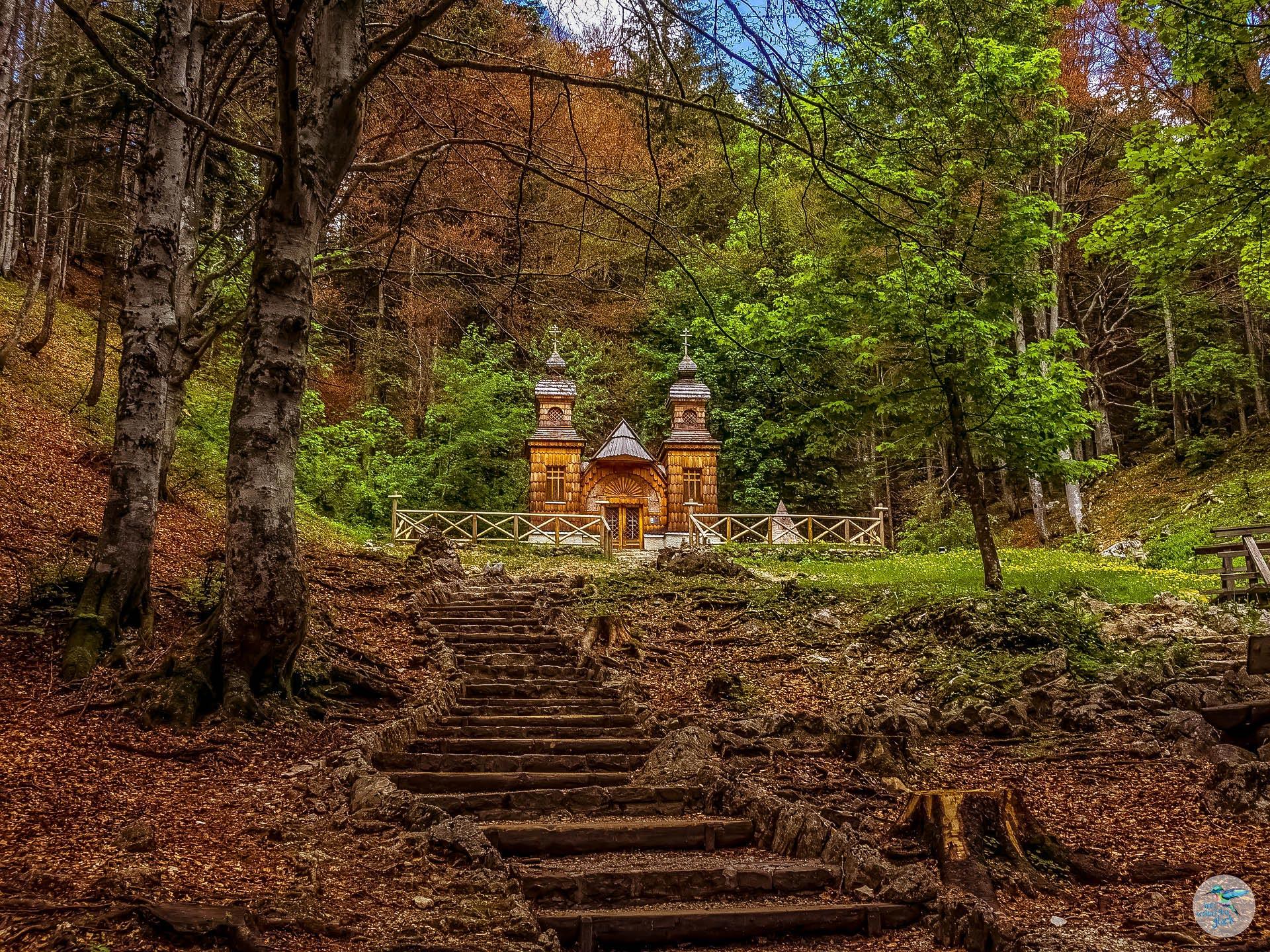 Russische Kapelle am Alpe Adria Trail