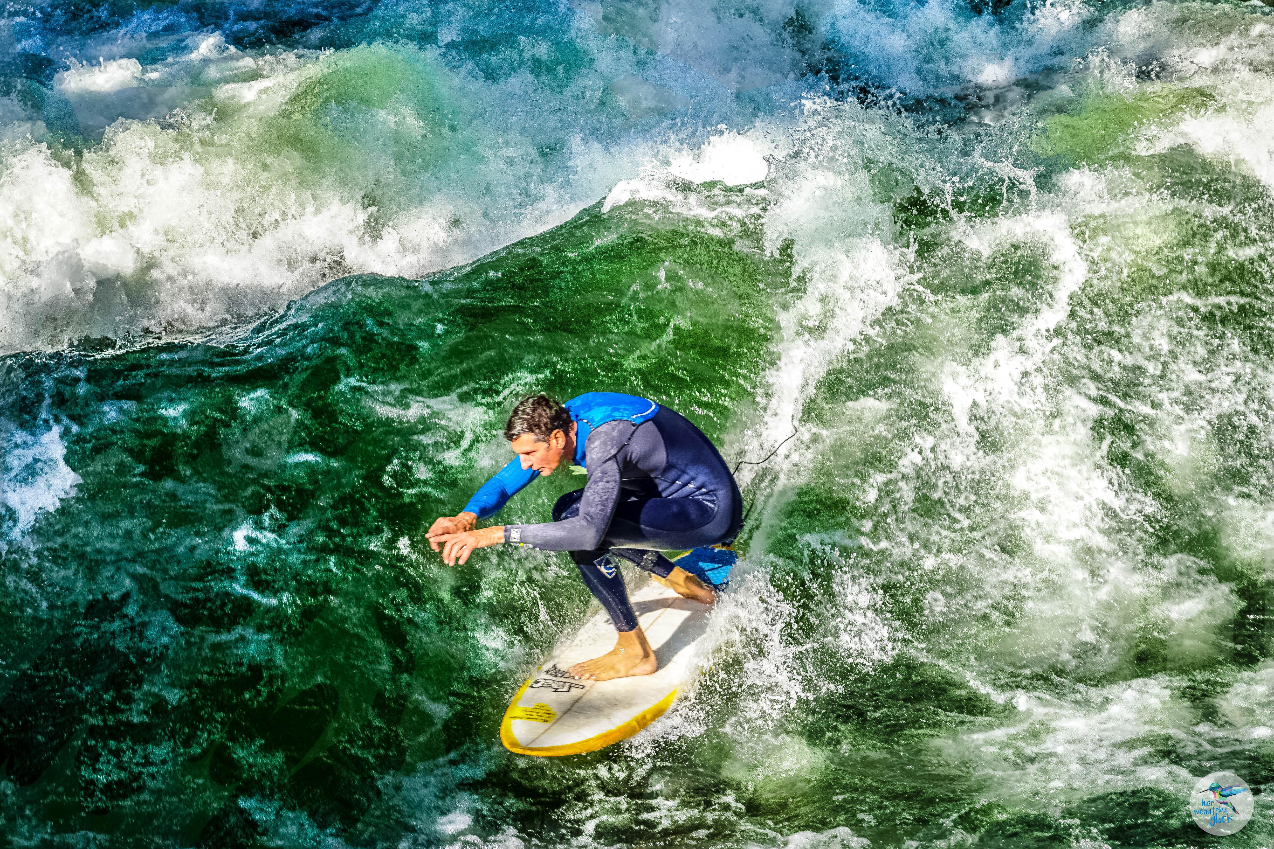 Die künstlich erschaffene Welle ist durchaus herausfordernd - daher nur für Geübte zu empfehlen