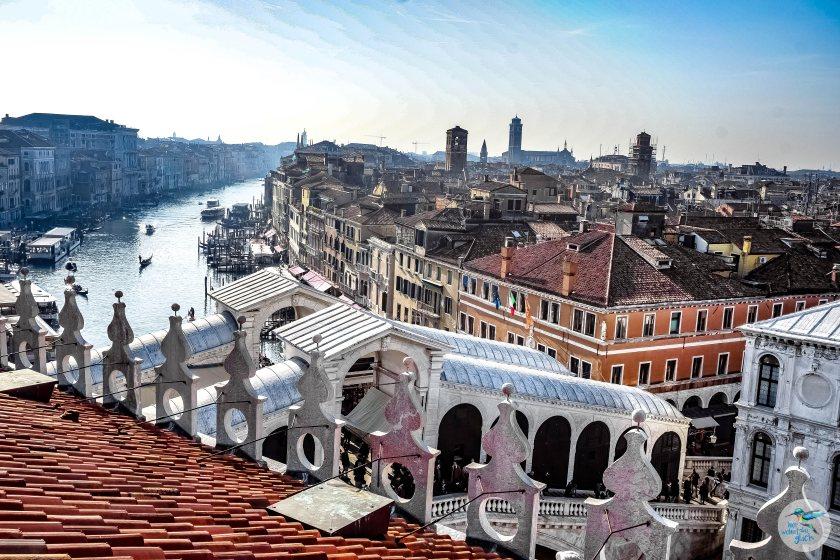 Venedig: wunderbare Aussicht vom Fondaco dei Tedeschi