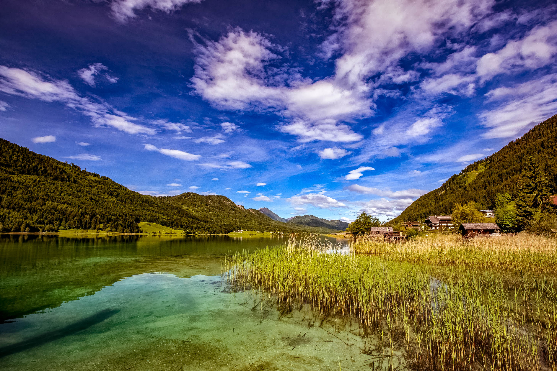 Der Liebling unter den Kärntner Seen: der Weißensee