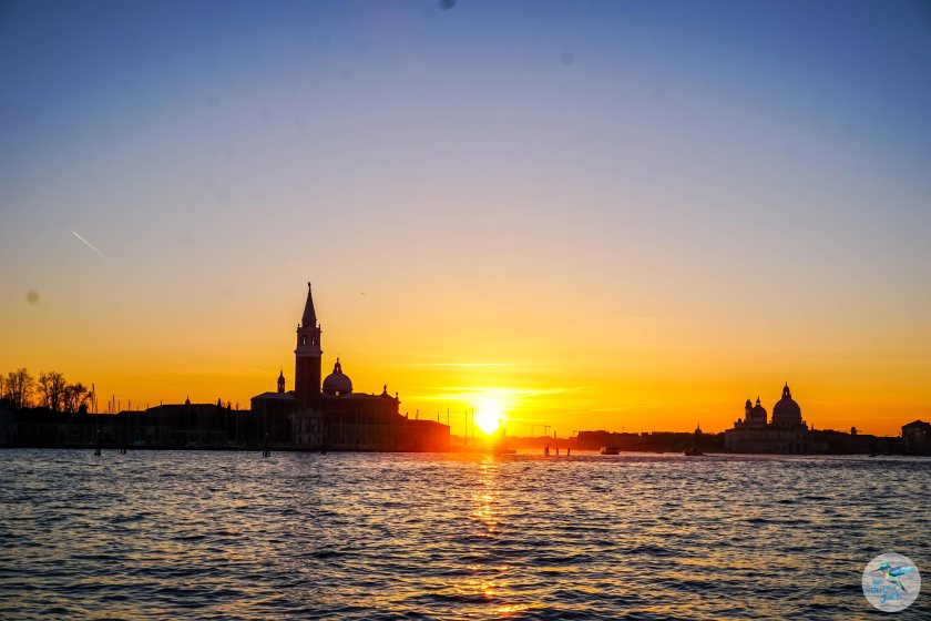 Venedig: romantische Sonnenuntergänge
