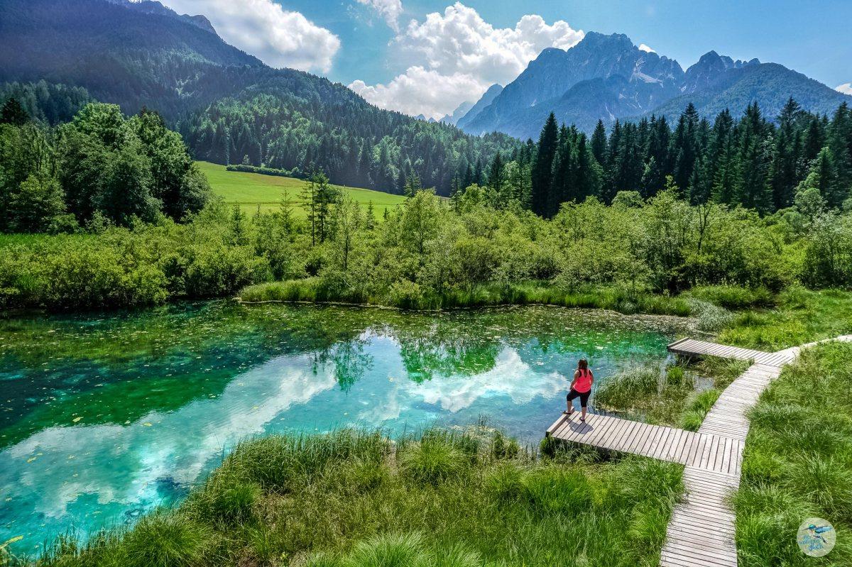 Save Radweg: Villach, Italien undSlowenien