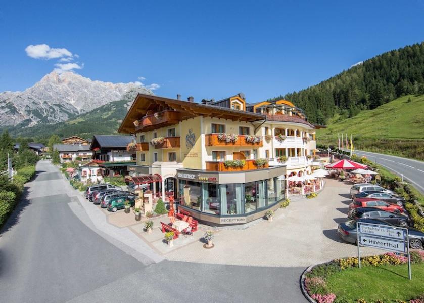 Die zentrale Lage des Urslauerhof - Berg & Spa Hotels überzeugt
