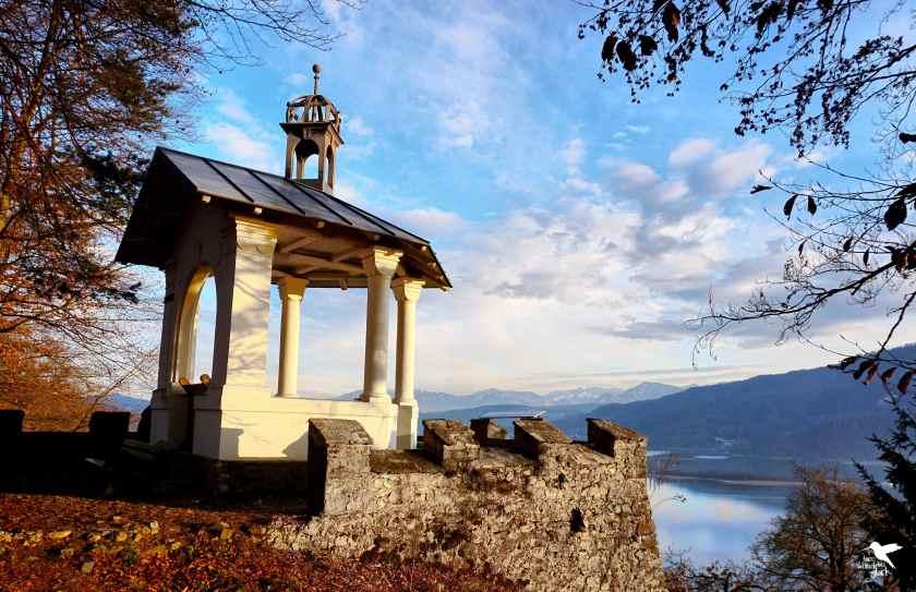 Wunderschöner Pavillon mit Blick auf den Wörthersee