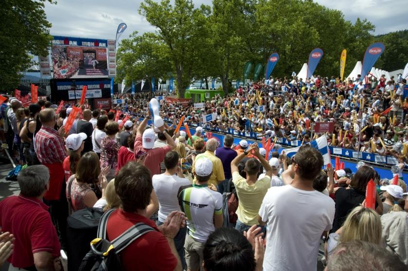 Ironman Austria: Bombastische Stimmung an der Finishline