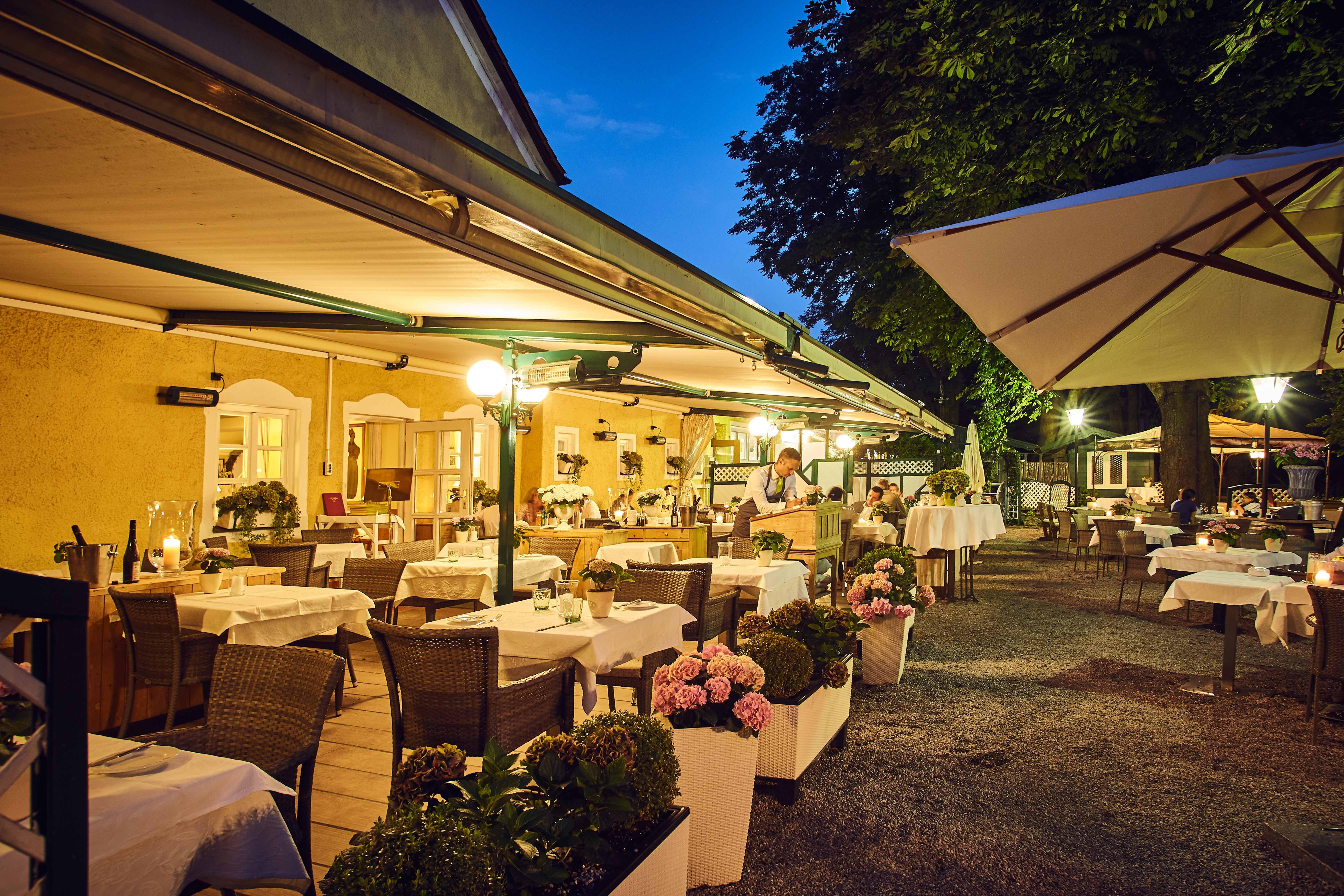 Romantischer Gastgarten mit exklusiver Küche!