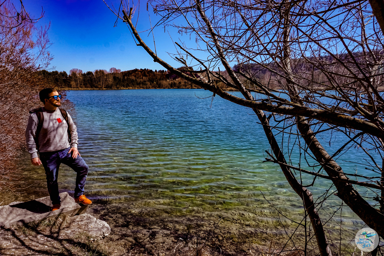 Spaziergänge in den Frühling: die Silbersee Umrundung