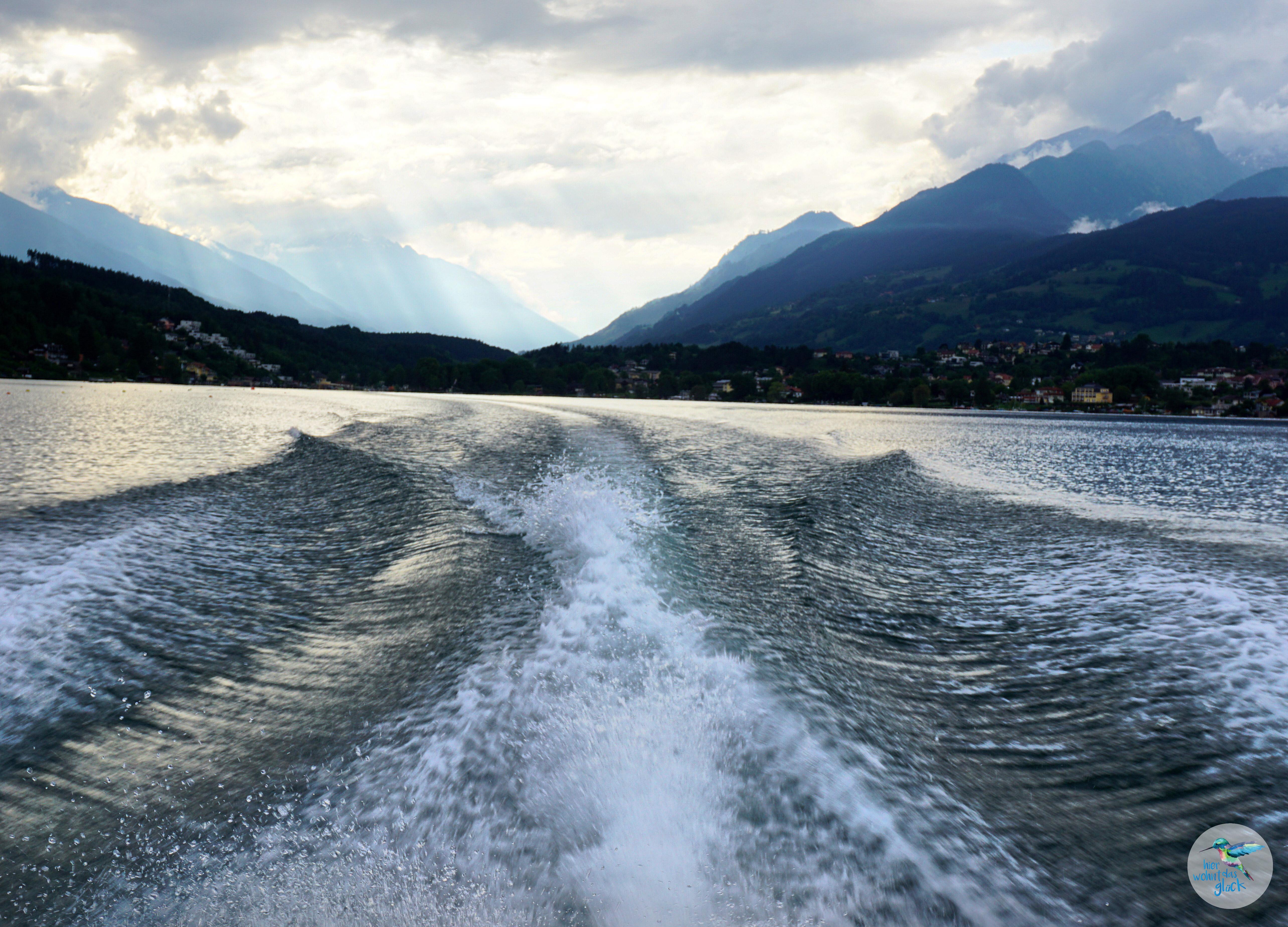 Bootsfahrt am Millstätter See