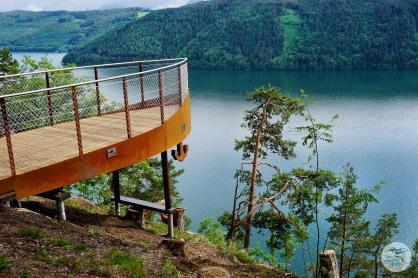 Ausblick auf den Millstätter See