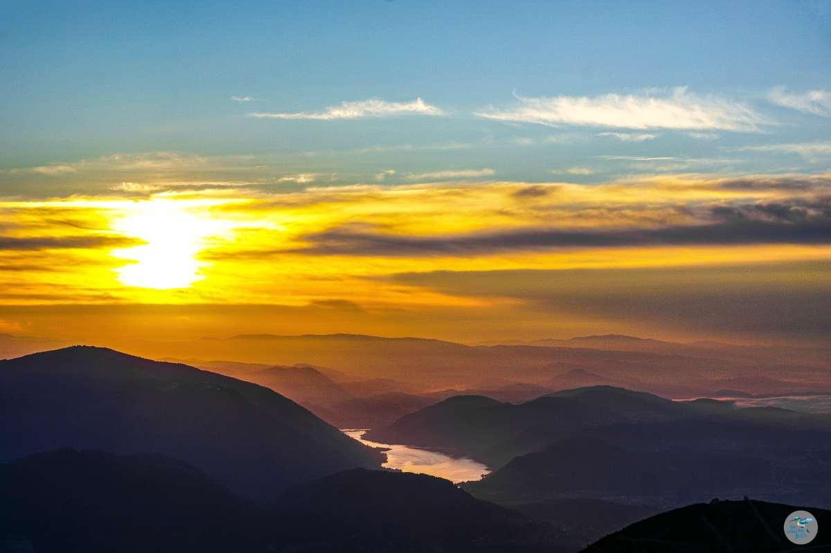 Dobratsch zum Sonnenaufgang