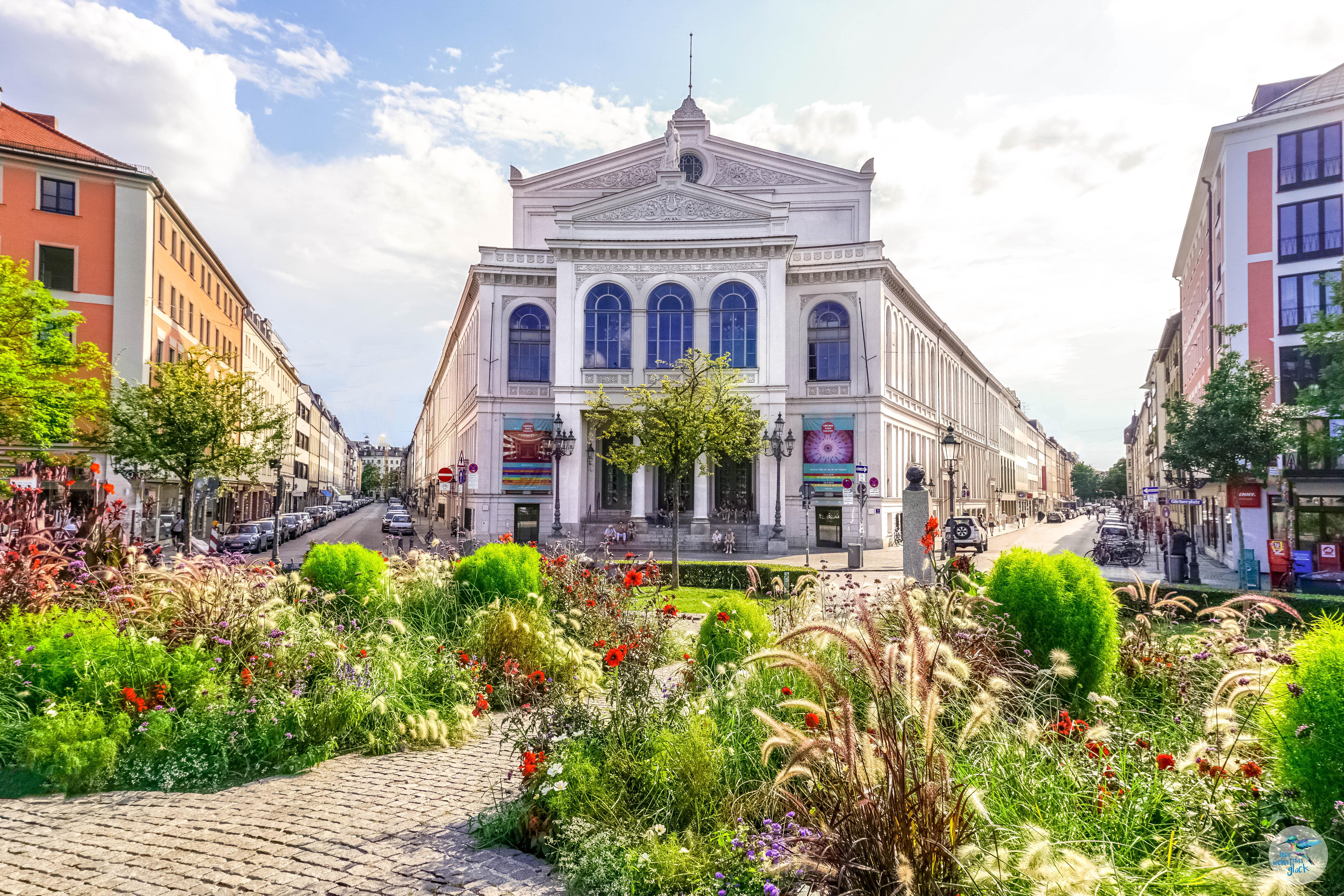 Der Gärtnerplatz - Zentrum des Glockenbachviertels