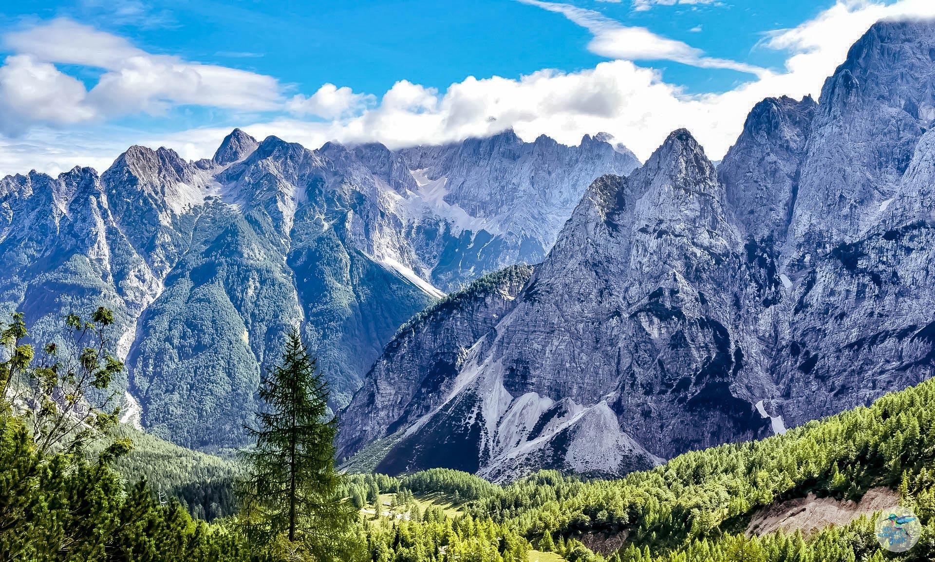 Alpe Adria Trail Etappe 23, Richtung Vršič-Pass