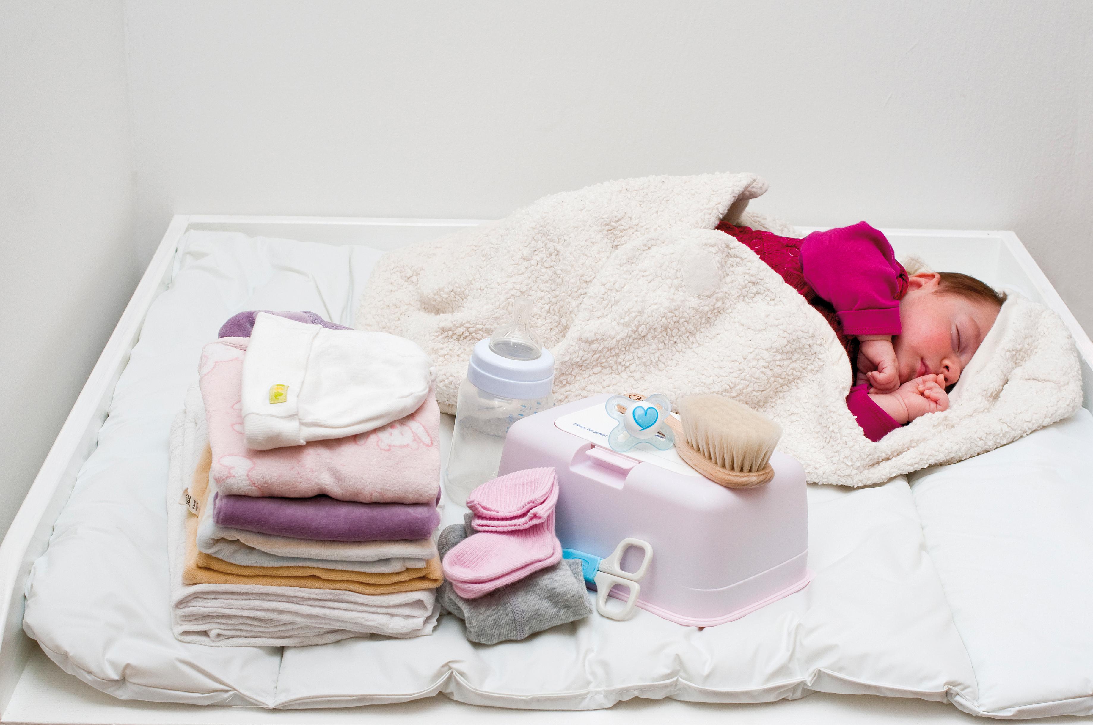Babypaket der Caritas zum Muttertag