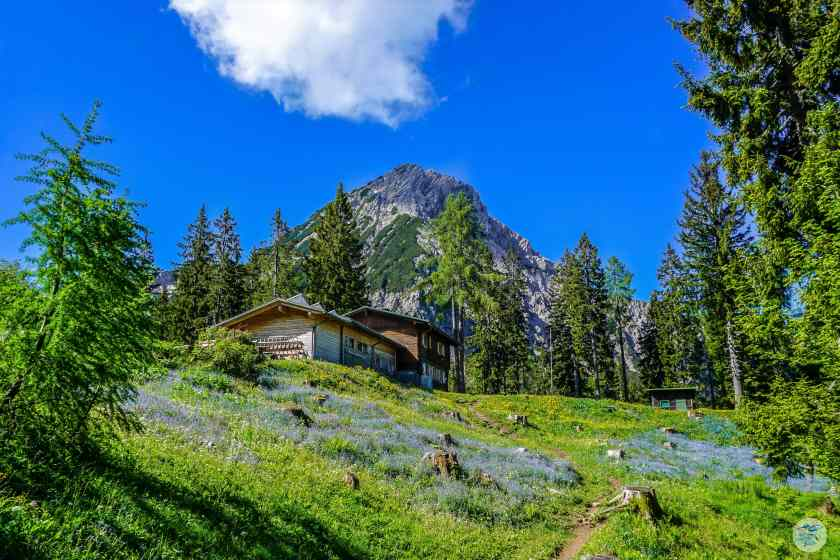 Bertahütte und Mittagskogel