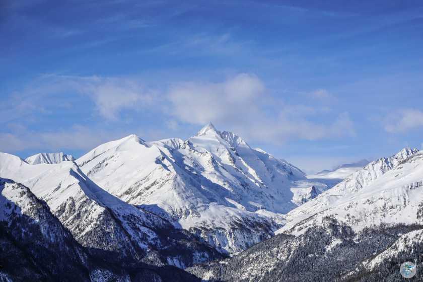 Blick auf den Großglockner 3798 m