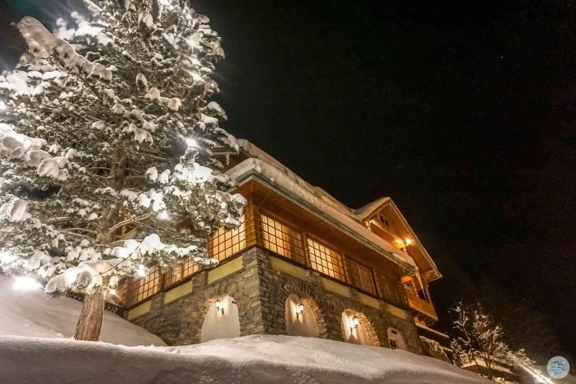 Kaiservilla im Winterkleid