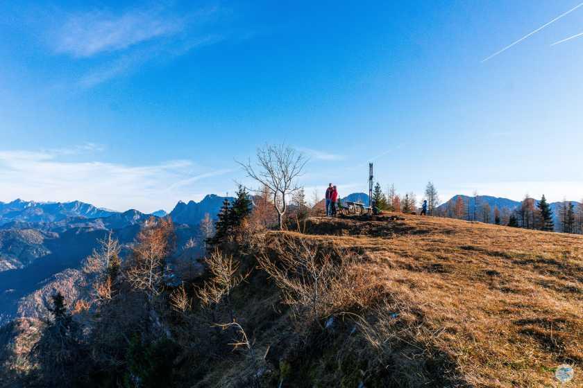 Gipfelplateau Matschacher Gupf